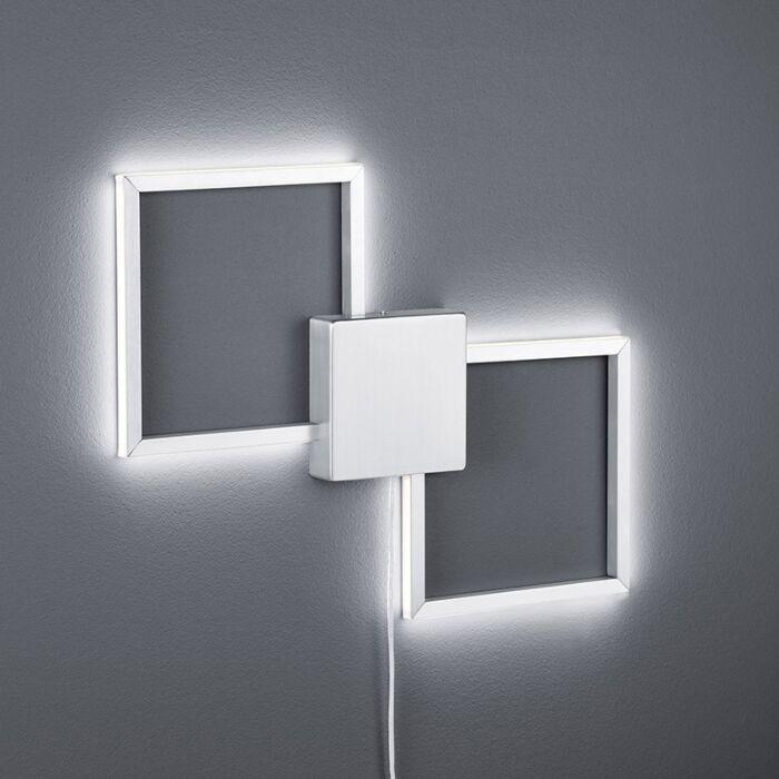 Modern-fali-lámpa-acél-LED-del---Carpo