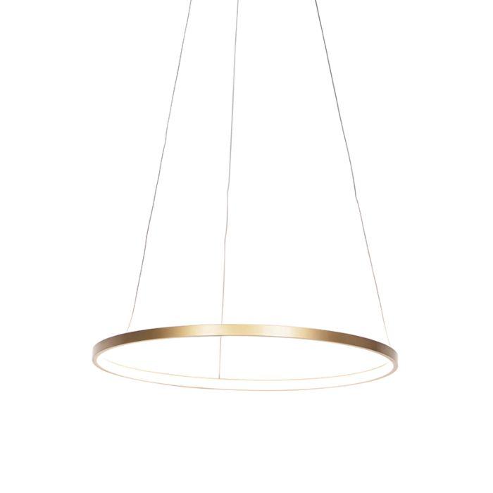 Arany-gyűrűs-függőlámpa,-60-cm,-LED-del,-Anella