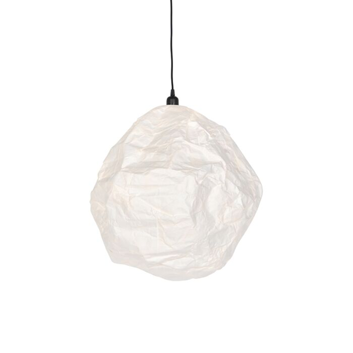 Skandináv-papír-függőlámpa-fehér---Pepa-Hive