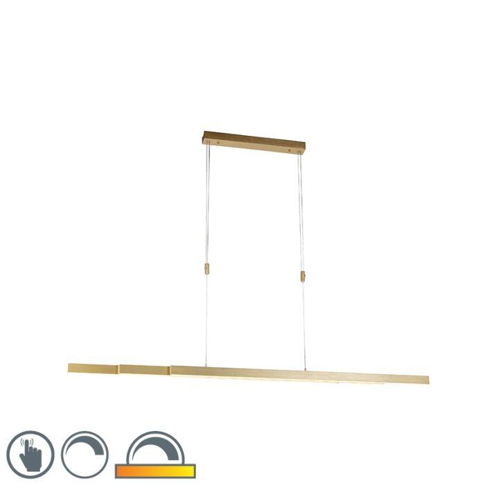 Állítható-sárgaréz-függesztett-lámpa-melegtől-melegig,-LED-el---Juliet