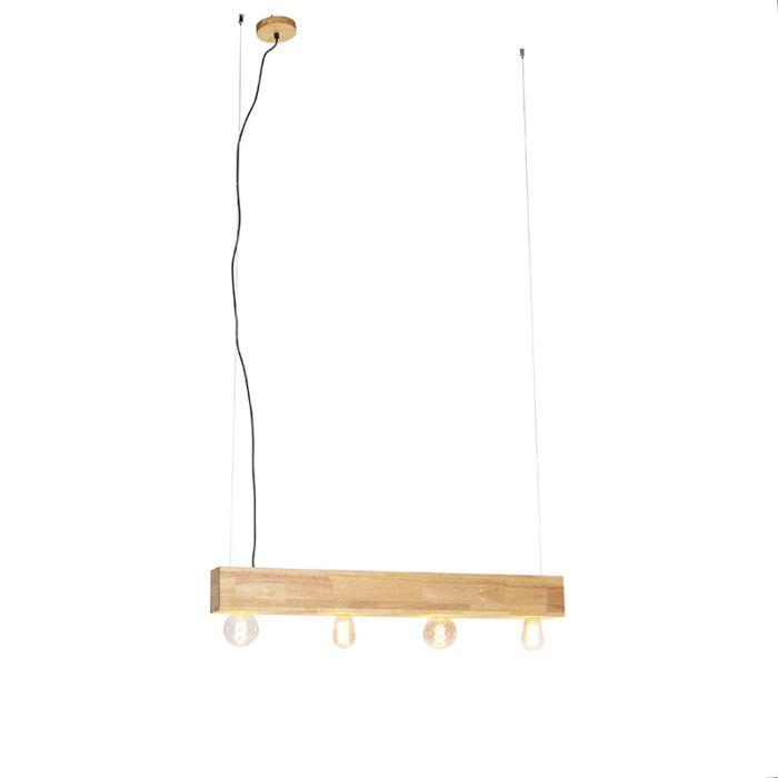 Vidéki-függesztett-lámpafa-4-lámpás---Sema